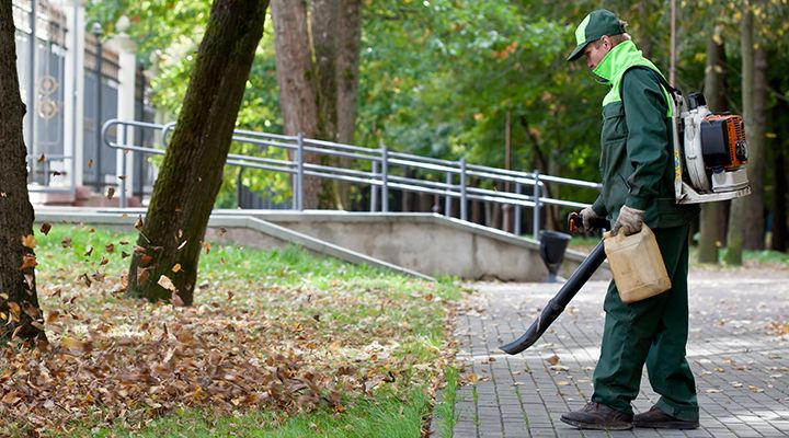 How To Use A Leaf Blower Properly